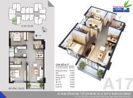 Căn A17 Chung cư Thanh Xuân Complex tầng 8