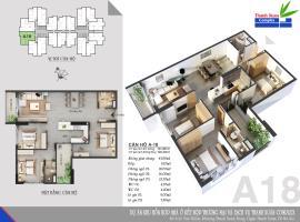 Căn A18 Chung cư Thanh Xuân Complex tầng 8