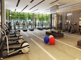 Khu tập gym tại dự án Him Lam Phú Đông