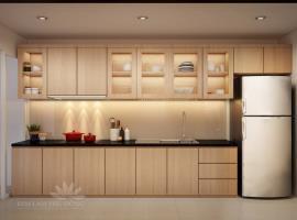 Phòng bếp tại dự án Him Lam Phú Đông