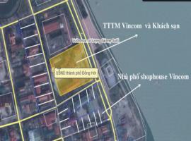 Vị trí đắc địa tại dự án Vincom shophouse Quảng Bì