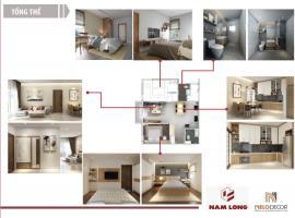 Phối cảnh căn hộ mẫu dự án Fuji Residence