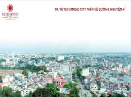 Hướng view đường Nguyễn Xí từ dự án Richmond city