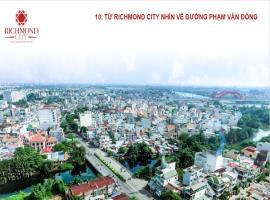 Hướng view đường Phạm Văn Đồng từ dự án Richmond c