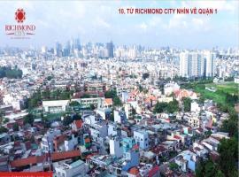 Hướng view quận 1 từ dự án Richmond city