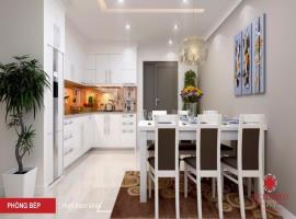 Phòng bếp căn hộ tại dự án Richmond city