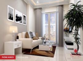 Phòng khách căn hộ tại dự án Richmond city