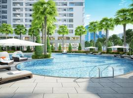 Bể bơi ngoài trời chung cư Rivera Park