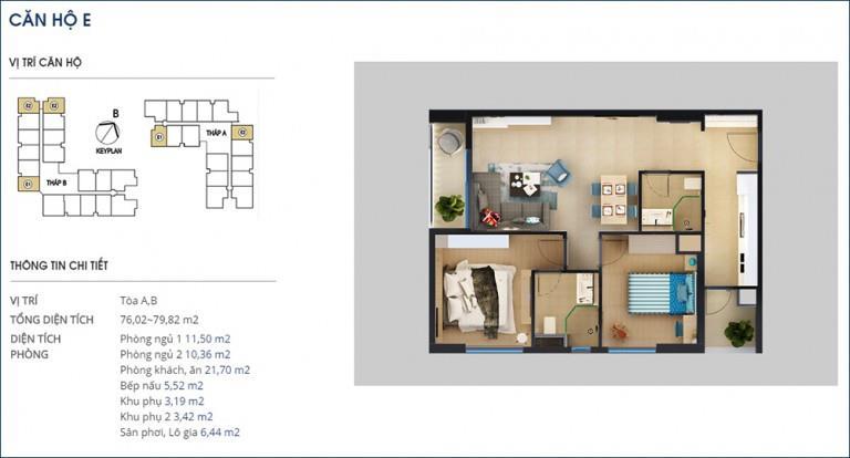 09 Tòa B tầng 10-Chung cư Rivera Park Hà Nội