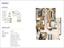 Căn 04 Tòa B tầng 3-Chung cư Rivera Park Hà Nội
