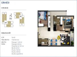 Căn 02 Tòa B tầng 3-Chung cư Rivera Park Hà Nội