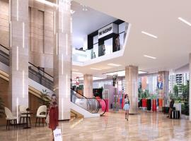 Trung tâm mua sắm tại dự án The Legend
