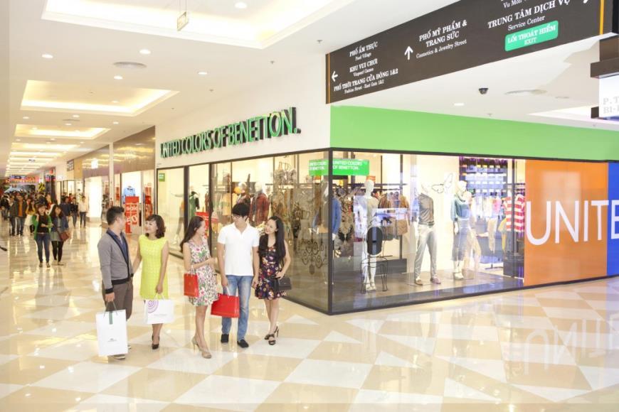 Trung tâm mua sắm tại chung cư Nha Trang Center 2