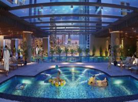 Bể bơi bốn mùa tai dự án Hồ Gươm Plaza