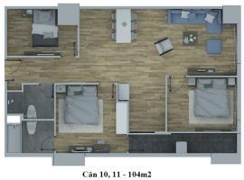 Căn hộ số 11 tháp C dự án Hồ Gươm Plaza