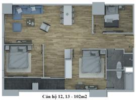 Căn hộ số 12-13 tháp C dự án Hồ Gươm Plaza