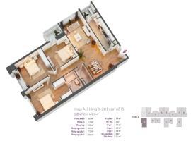 Căn hộ số 15 tầng 6-28 tháp A dự án Hồ Gươm Plaza