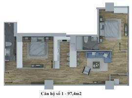 Căn hộ số 1tháp C dự án Hồ Gươm Plaza