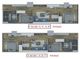 Căn hộ số 2-4-6-8 tháp C dự án Hồ Gươm Plaza