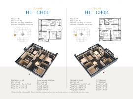 CH01 Tòa H1 tầng 10 Căn hộ cao cấp SunShine Minh Khai - Tầng: 10