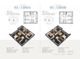 CH03B - Tòa H1 Căn hộ cao cấp SunShine Minh Khai