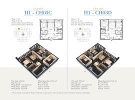 CH03C - Tòa H1 Căn hộ cao cấp SunShine Minh Khai