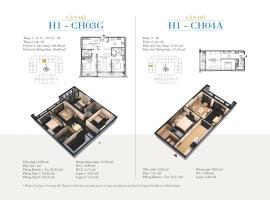 CH04A - Tòa H1 Căn hộ cao cấp SunShine Minh Khai