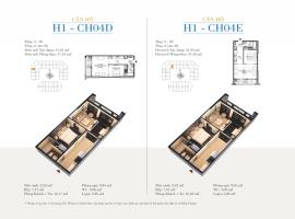 CH04E - Tòa H1 Căn hộ cao cấp SunShine Minh Khai