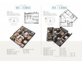 CH06 Tòa H1 tầng 6 Căn hộ cao cấp SunShine Minh Khai - Tầng: 6
