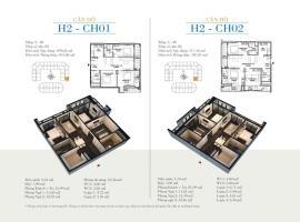 CH02 Tòa H2 tầng 12 Căn hộ cao cấp SunShine Minh Khai - Tầng: 12