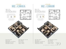 CH03A - Tòa H2 Căn hộ cao cấp SunShine Minh Khai