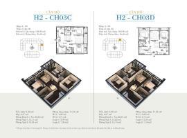 CH03D - Tòa H2 Căn hộ cao cấp SunShine Minh Khai
