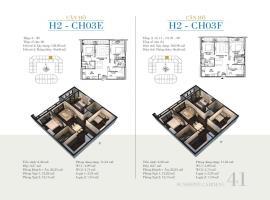 CH03E - Tòa H2 Căn hộ cao cấp SunShine Minh Khai