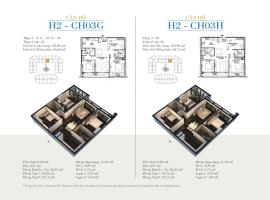 CH03G - Tòa H2 Căn hộ cao cấp SunShine Minh Khai
