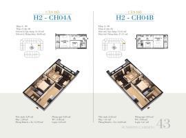 CH04B - Tòa H2 Căn hộ cao cấp SunShine Minh Khai