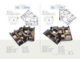 CH07 - Tòa H2 Căn hộ cao cấp SunShine Minh Khai