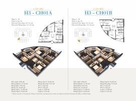 CH01A Tòa H3 tầng 18 Căn hộ cao cấp SunShine Minh Khai - Tầng: 18