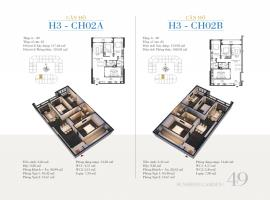 CH02B - Tòa H3 Căn hộ cao cấp SunShine Minh Khai