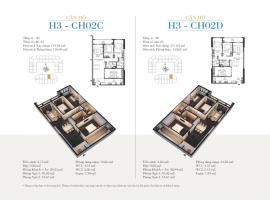 CH02D - Tòa H3 Căn hộ cao cấp SunShine Minh Khai