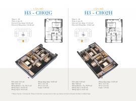 CH02G - Tòa H3 Căn hộ cao cấp SunShine Minh Khai