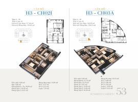 CH02I - Tòa H3 Căn hộ cao cấp SunShine Minh Khai