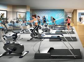 Phòng tập gym tại chung cư Riveside Garden