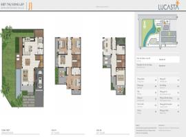 Biệt thự song lập J1 dự án Lucasta