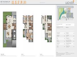 Biệt thự song lập J3, J5, J7, J9, J11 dự án Lucast