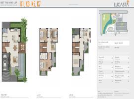 Biệt thự song lập K1, K3, K5, K7 dự án Lucasta
