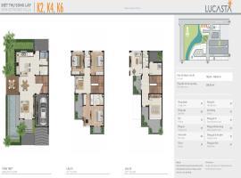 Biệt thự song lập K2,K4, K6 dự án Lucasta