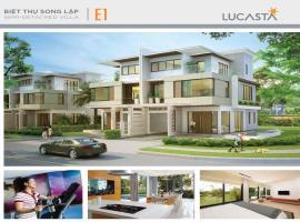 Hình ảnh Biệt thự song lập E1 dự án Lucasta
