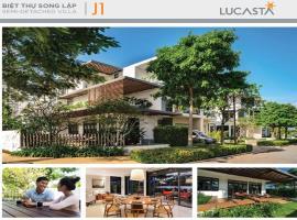 Hình ảnh Biệt thự song lập J1 dự án Lucasta