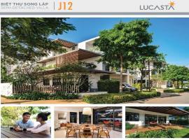 Hình ảnh Biệt thự song lập J12 dự án Lucasta