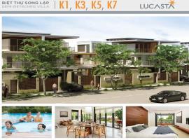 Hình ảnh Biệt thự song lập K1, K3, K5, K7 dự án Lu